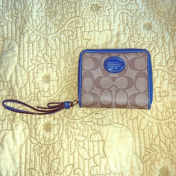 Coach Handbags - Coach small square wallet
